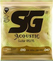 Encordoamento Sg Violao Aco 010 Bronze  85/15 6685 -