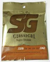 Encordoamento SG Violão Nylon - Bronze, Tensão Leve (6681) -