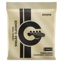 Encordoamento Solez GS5M Groove Tensão Média P/ Violão Nylon -