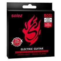 Encordoamento solez guitarra slg9 0.009 dlp -