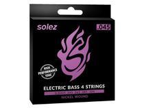 Encordoamento Solez para Contrabaixo 4 cordas .045 - SLB445 -