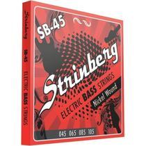 Encordoamento Strinberg 045 Sb45 Contrabaixo 4 Cordas -