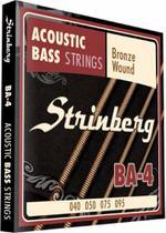 Encordoamento Strinberg Ba-4 Para Baixolão 4 Cordas -