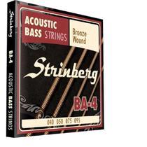 Encordoamento strinberg contrabaixo ba4 acustico -