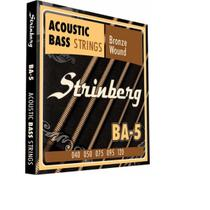 Encordoamento strinberg contrabaixo ba5 acustico -