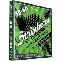 Encordoamento strinberg contrabaixo sb60 6 cordas -