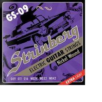 Encordoamento strinberg gs09 p/guitarra -