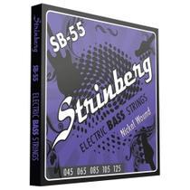 Encordoamento Strinberg Sb 55 P/ Contra Baixo 5 Cordas 045 -