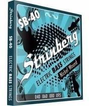Encordoamento Strinberg Sb40 P/ Contra Baixo 4 Cordas 040 -