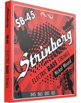 Encordoamento Strinberg Sb45 para Contra Baixo 4 Cordas 045 -