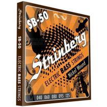 Encordoamento Strinberg Sb50 P/ Contra Baixo 5 Cordas 040 -