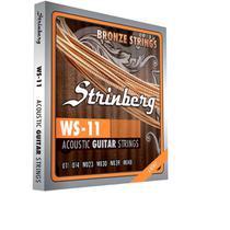Encordoamento strinberg ws11 p/violao aco -