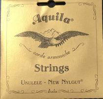 Encordoamento Ukulele Aquila Soprano New Nylgut High G - AQ4U - Aquila Strings