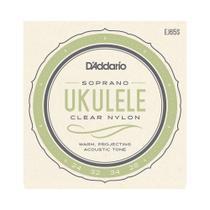 Encordoamento Ukulele Daddario EJ65S Nylon Retificado -