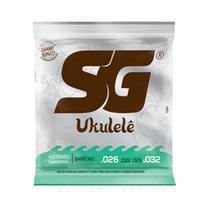 Encordoamento Ukulele SG Baritono Nylon -