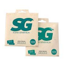 Encordoamento Ukulele Soprano Concert SG SG7162 ( 2 Kit ) -
