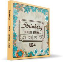Encordoamento Ukulele Soprano Uk-04 Strinberg -