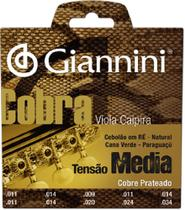 Encordoamento Viola Caipira Giannini Cobra Gesvm -