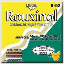 Encordoamento Viola Caipira Tensão Média Ré Rouxinol -