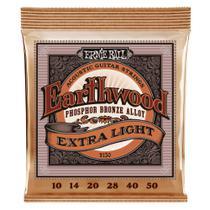 Encordoamento Violão Aço .010 Ernie Ball Earthwood P02150 -