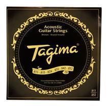 Encordoamento Violão Aço .011 Bronze 85/15 Tagima TVA011 -