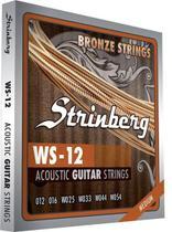 Encordoamento Violão Aço 0,12 WS12 Strinberg -
