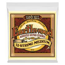 Encordoamento violao aço 12 cordas earthwood ernie ball -