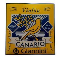 Encordoamento Violão Aço Canário By Giannini GESWB -