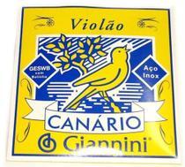 Encordoamento Violão Aço Com Bolinha Canario - D'Addario - Giannini