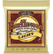 Encordoamento Violão Aço Ernie Ball 011 Earthwood (2004) -