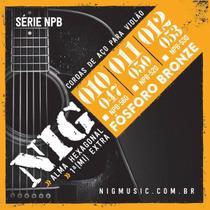 Encordoamento Violão Aço Nig NPB520 Fósforo Bronze .011/.050 -