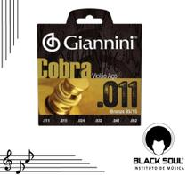 Encordoamento Violão Giannini Aço 0.11 -
