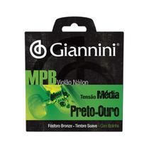 Encordoamento Violão Giannini GENWBG Nylon MPB Médio -