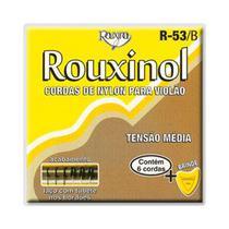 Encordoamento Violão Náilon Preto Tensão Média Rouxinol R53B -
