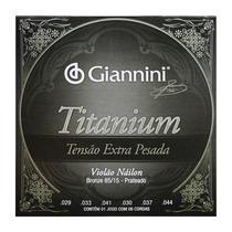 Encordoamento Violão Náilon Tensão Extra Pesada Titanium Giannini GENWXTA -