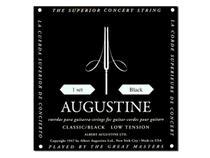 Encordoamento Violão Nylon Augustine Classic Black Tensão Leve -