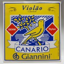 Encordoamento Violão Nylon Canário Giannini GENW -