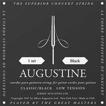 Encordoamento violão nylon  classic black - augustine -