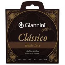 Encordoamento Violão Nylon Giannini Clássico Leve GENWPL -