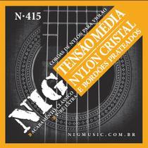 Encordoamento Violão Nylon Média NIG N415 -