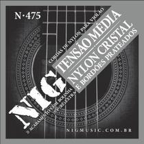Encordoamento Violão Nylon Nig Tensão Média -