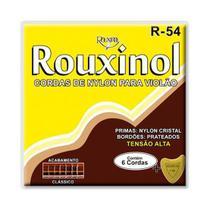 Encordoamento Violão Rouxinol R54 Nylon Cristal Tensão Alta -