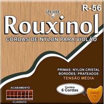 Encordoamento violao rouxinol t. média nylon cristal r56 -