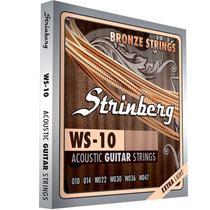 Encordoamento Violao Strinberg Aço Ws 10 -
