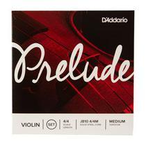 Encordoamento Violino Daddario Cordas Prelude 4/4 Medium -