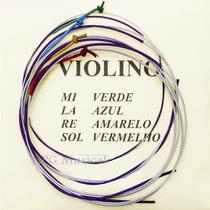 Encordoamento Violino Mauro Calixto Padrão 3/4 -