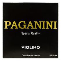 Encordoamento Violino Paganini PE950 -