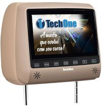 Encosto de Cabeca com Monitor TECH ONE SLIM sem DVD Bege