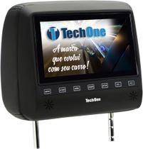Encosto de Cabeca com Monitor TECH ONE SLIM sem DVD Preto