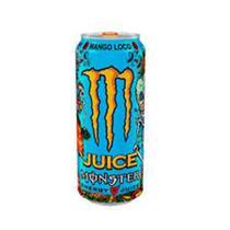 Energético Monster Energy Juice Mango Loco 473ml Pack com 6 -